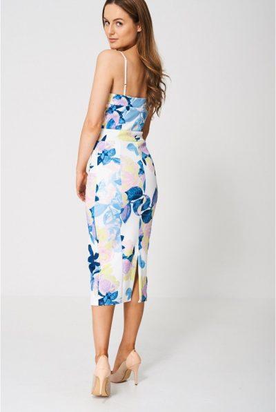 back of floral dress 7