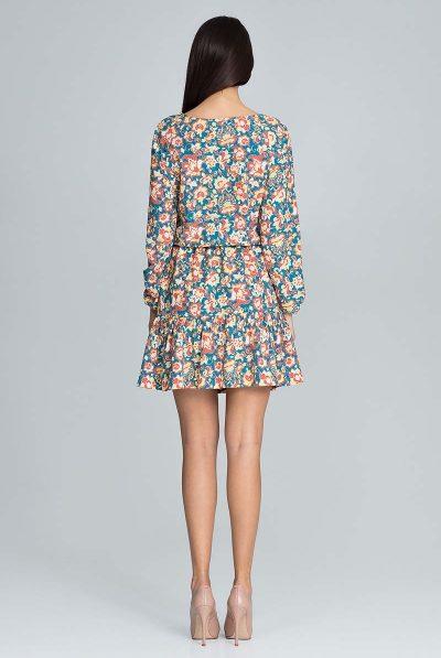 back of floral short