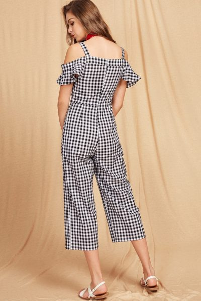 back of gingham