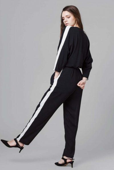 back of moonchrome lux jumpsuit