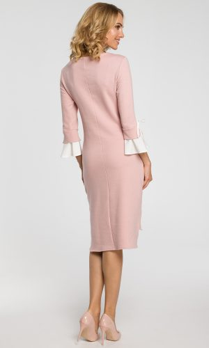 back of pastel pink e