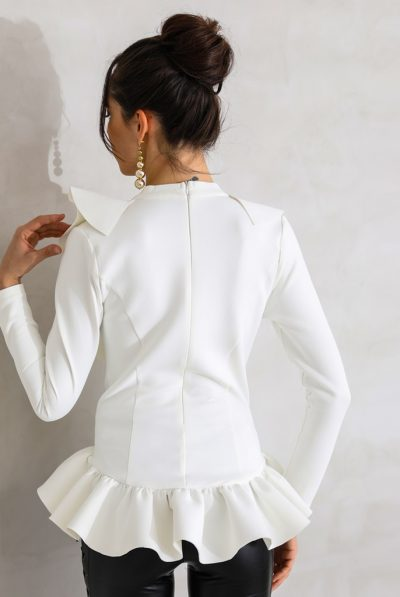 back of white plunge top 6789