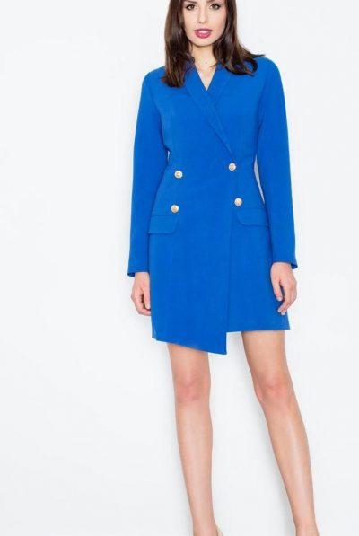 blue blazer dress 5