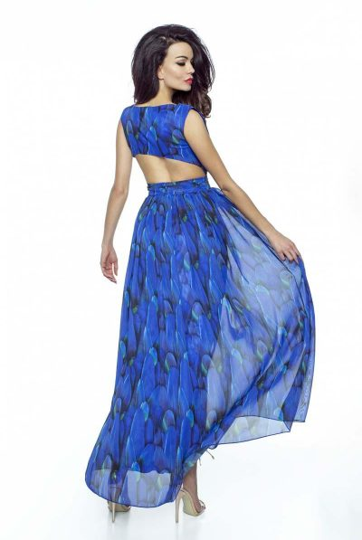 blue mazi dress 989