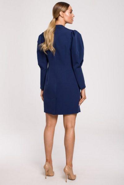 cm6221-sukienka-zakietowa-z-rekawami-z-bufkami-granatowa (1)