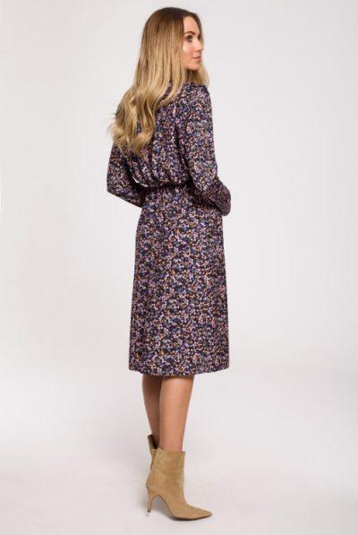 cm6224-sukienka-kwiecista-z-bufiastymi-rekawami-i-rozcieciem-model-1 (1)