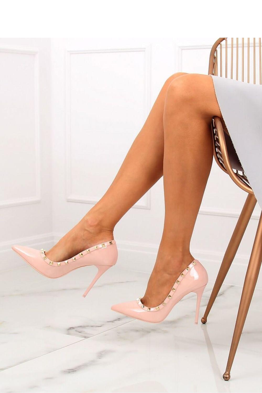 Pink Studded High Heels