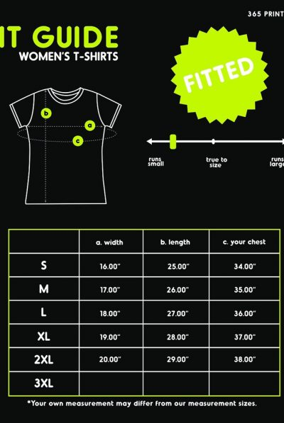 fitted t-shirt guide