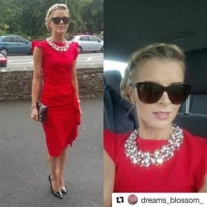jacinta red dress