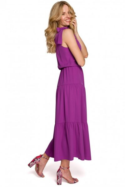 k092-shoulder-tie-strap-dress-lavender