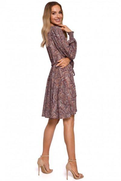 m576-wrap-dress-with-bishop-sleeves-model-1 (1)