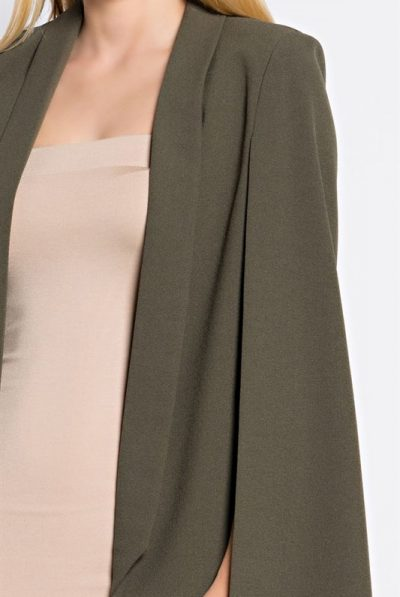 olive green cape 2