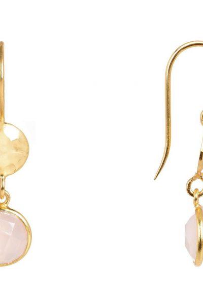 rose quartz earring 7