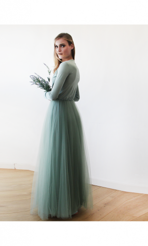 sage green bridesmaid 5