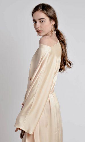 side of silk dress cmm