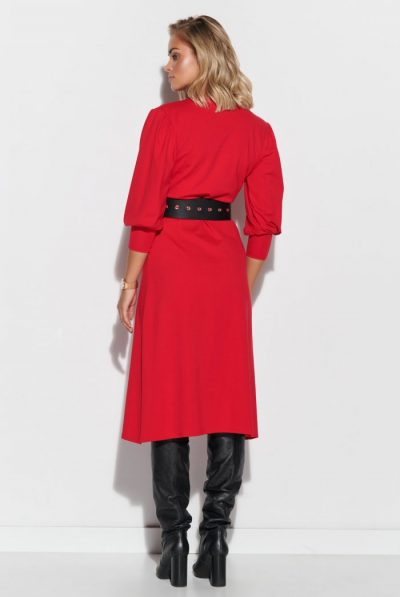 sukienka-przekladana-z-rekawami-bufkami-midi-czerwona-m623 (1)