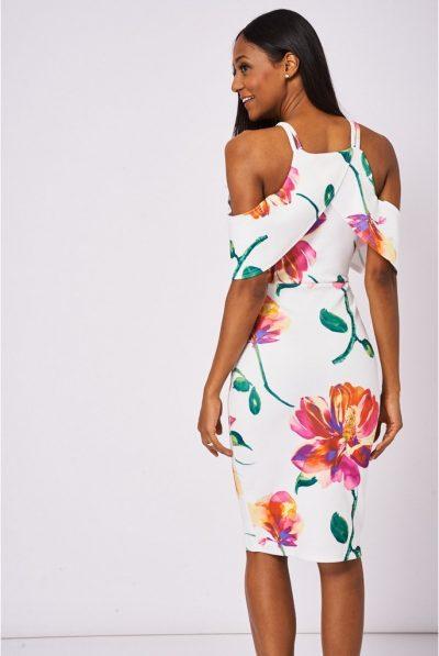 white floral dress 67