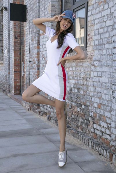 white side dress 34
